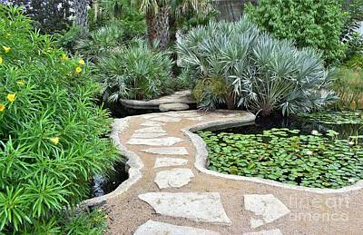 Photograph - Garden Path  by James Fannin