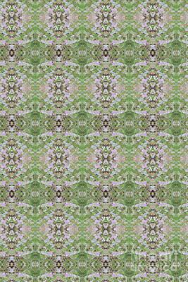 Digital Art - Garden Walk Pattern by Donna L Munro