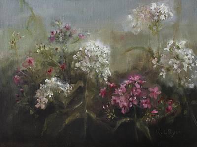 Garden Phlox Art Print by Karen Ryan