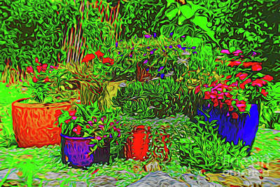 Photograph - Garden Plants 150 by Ray Shrewsberry
