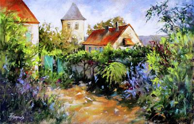 Garden Pleasures Art Print by Rae Andrews