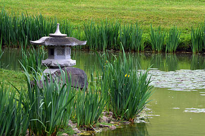 Photograph - Garden Pond by Kathleen Stephens