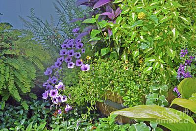 Warren Connecticut Photograph - Garden Profusion by Andrea Simon