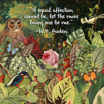 Painting - Garden Quote by Gary Grayson