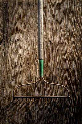Tools On Wood 8 Art Print by Yo Pedro