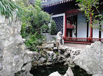 Photograph - Garden Rockery - Yuyuan Garden by Debbie Oppermann