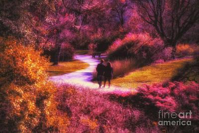 Photograph - Garden Romance by Mechala Matthews