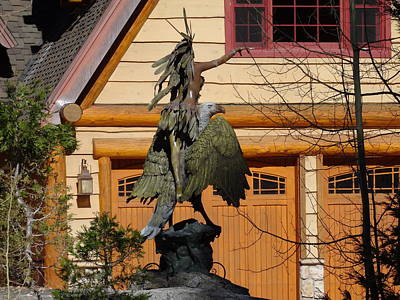 Photograph - Garden Sculpture by Jim Taylor