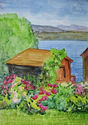 Garden Shed Original by Bethany Lee