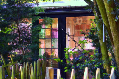 Shed Digital Art - Garden Shed by Nadia Sanowar