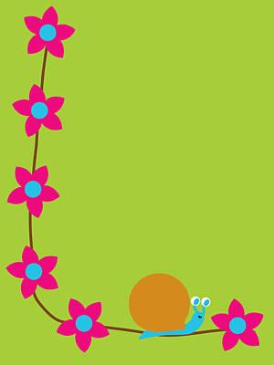 Digital Art - Garden Snail by Pbs Kids