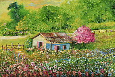 Painting - Garden Spring House by Alicia Maury