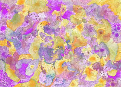 Garden #ss16dw021 Art Print by Satomi Sugimoto