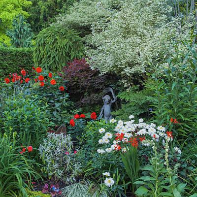 Photograph - Garden Statue by Adam Gibbs