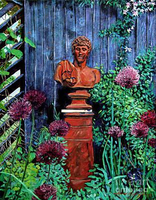 Garden Statue Original by David Lloyd Glover