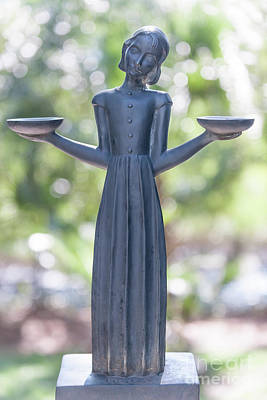Photograph - Garden Statue Dreams by Dale Powell