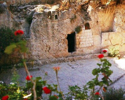 Holy Land Digital Art - Garden Tomb by Munir Alawi