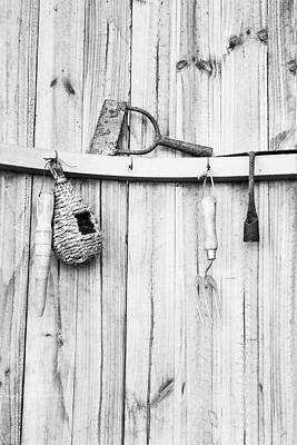 Photograph - Garden Tools by Rebecca Cozart