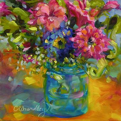 Painting - Garden Treasures by Chris Brandley