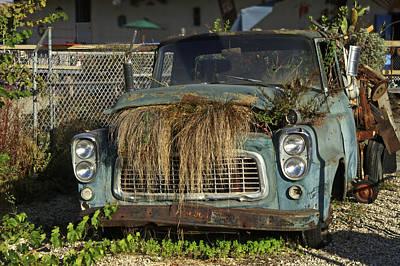 Photograph - garden Truck by Gary Brandes