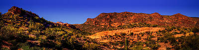 Photograph - Garden Valley In Superstition Wilderness by Roger Passman