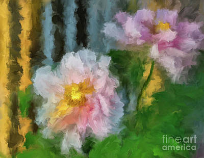 Digital Art - Garden Variety by Lois Bryan