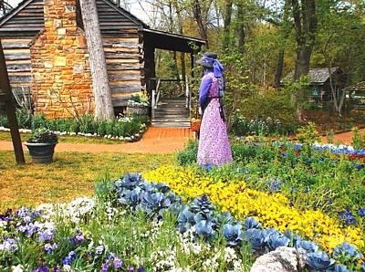 Painting - Garden Walk by Donna Dixon