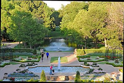 Photograph - Garden Walk by Robert Brown