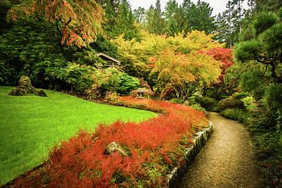 Photograph - Garden Walk by Steven Sparks