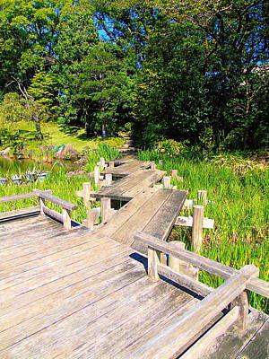 Photograph - Garden Walkway Sunpu Park by Susan Lafleur