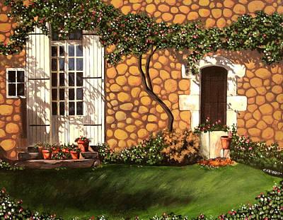 Garden Wall Art Print