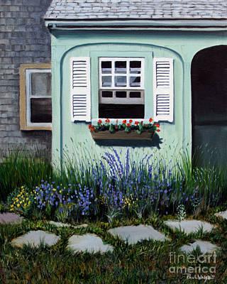 Garden Window Art Print