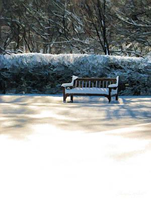 Painting - Garden Winter Solitude by Christopher Arndt