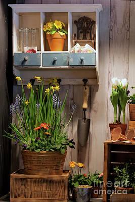 Photograph - Gardener's Corner by Nicki McManus