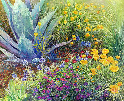 Airplane Paintings - Gardeners Delight by Hailey E Herrera