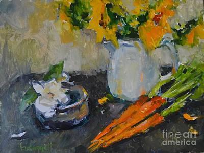 Gardenia And Carrots Original