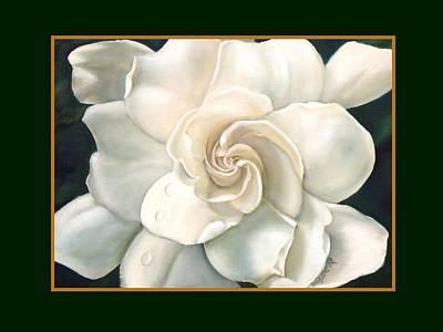 Gardenia Painting - Gardenia by Darlene Green