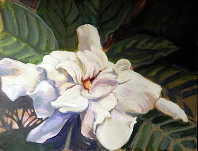 Painting - Gardenia by Elaine Hines