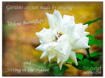 Photograph - Gardenia From The Garden by Sandra Clark