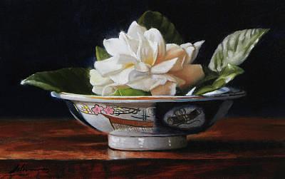 Gardenia In China Bowl Original