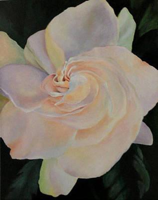 Painting - Gardenia by Susan M Fleischer
