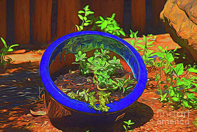 Photograph - Gardening 11718 by Ray Shrewsberry