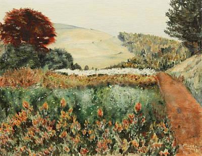Gardens At Monticello Art Print