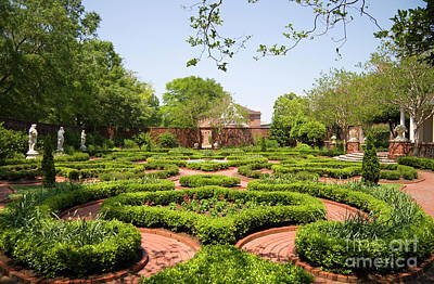 Photograph - Gardens At Tryon Palace by Jill Lang