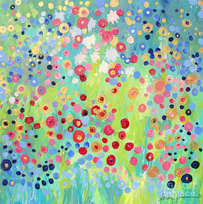 Painting - Garden's Delight by Stacey Zimmerman
