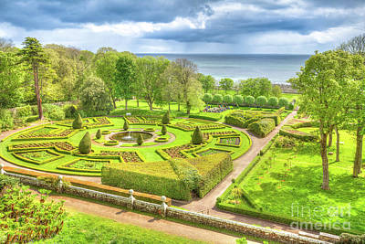 Photograph - Gardens Of Dunrobin Castle by Benny Marty