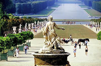 Paris Photograph - Gardens, Palace Of Versailles, Paris by Buddy Mays