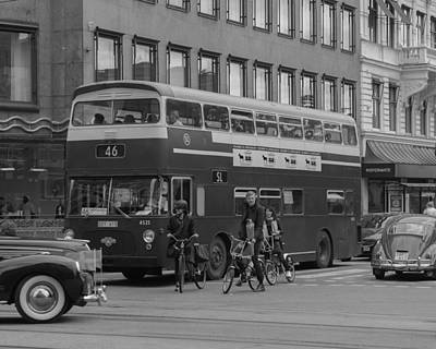 Photograph - Gardesloppet Prins Bertil Memorial 2015 Bus 46 by Evgeny Lutsko