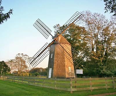 Photograph - Gardiner Windmill by Karen Silvestri