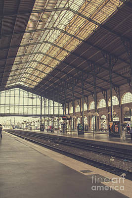 Photograph - Gare Du Nord by Patricia Hofmeester